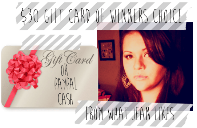 Win a $30 Gift Card or Paypal Cash