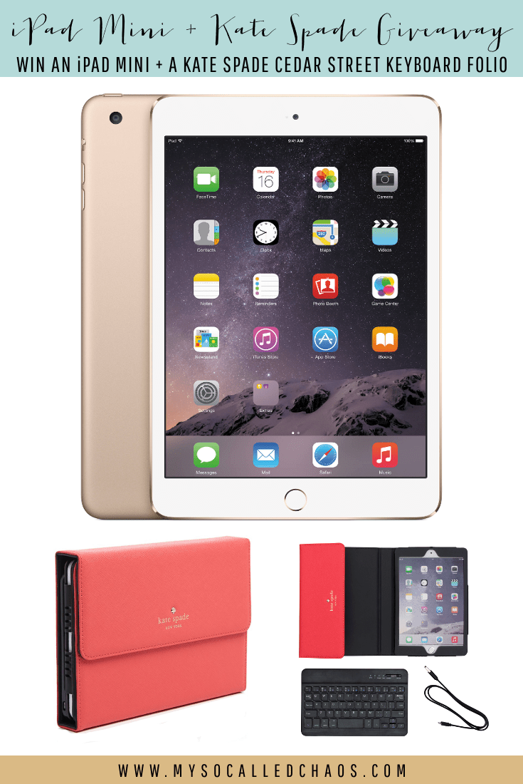 Huge iPad Mini + Kate Spade Giveaway