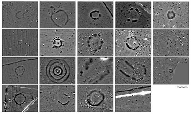 Estructuras subterráneas detectadas en Stonehenge gracias al radar. Cortesría de Stonehenge Hidden Landscape Project.