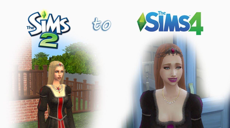 Sims 2 Hair to Sims 4 Conversion