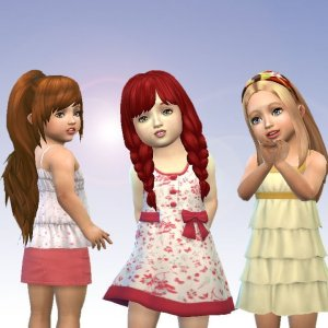 Toddlers Hair Pack 6