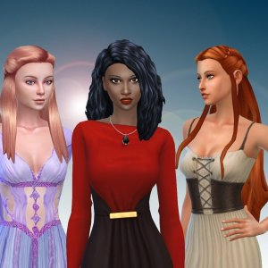 Female Long Hair Pack 12