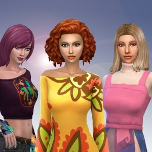 Female Medium Hair Pack 8