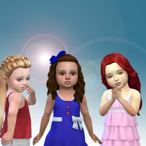 Toddlers Hair Pack 15
