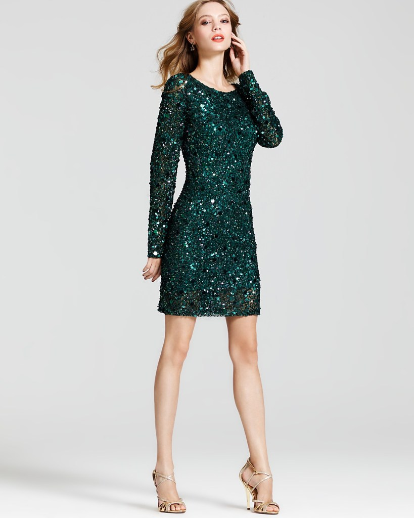 Sequin-Dress-Long-Sleeve