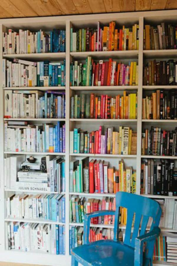 book books bookshelf colours-#6