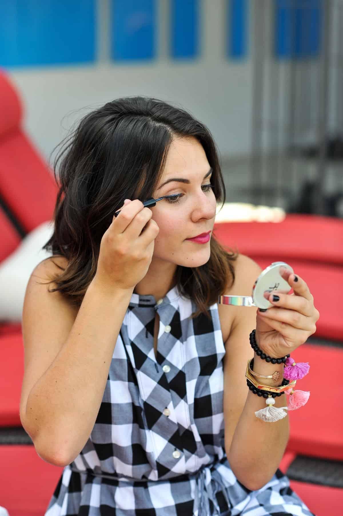 dolce & gabbana waterproof liquid eyeliner, summer beauty tips for hot summer days