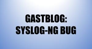 Syslog-ng bug