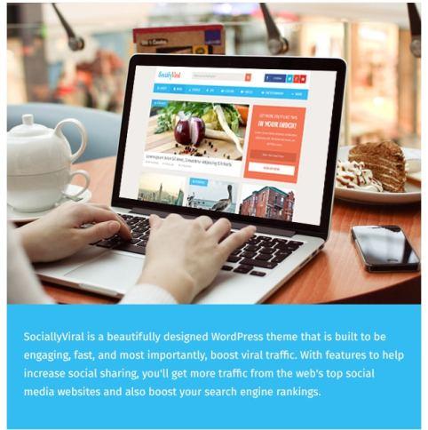 Wordpress Themes SociallyViral