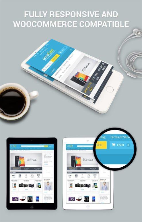 Wordpress Themes WooCart