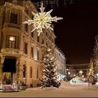 Sundsvall i julskrud