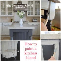 Exciting How To Paint A Kitchen Island Blue Kitchen Island Paint Color Kitchen Island Paint Colours