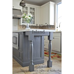 Small Crop Of Painted Kitchen Islands