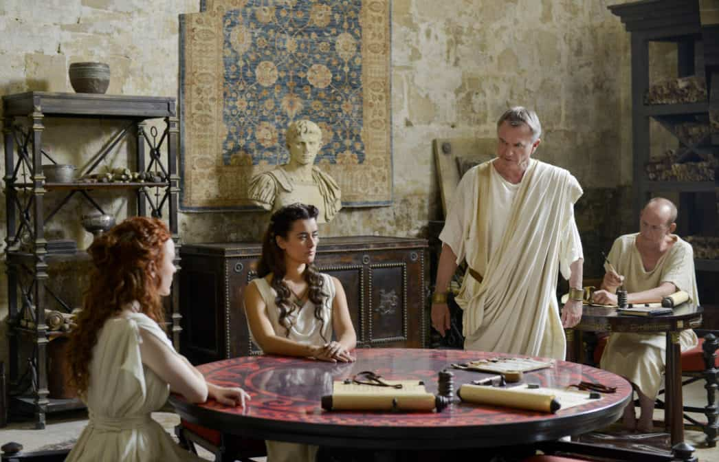 The Dovekeepers premieres 3/31 and 4/1 it is a must watch movie.