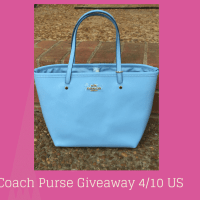 Coach Purse Giveaway in time for Easter 4/10 US