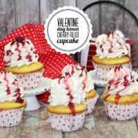 Cherry Lemon cupcake recipe #12daysof
