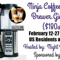 Ninja Coffee Bar Giveaway 2/27 US