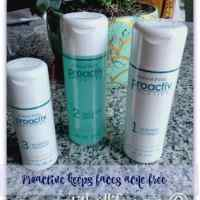 Proactiv face cleansing kit makes for an acne free face @Proactiv #ad
