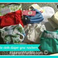 How to cloth diaper your newborn #ad @CottonBabies