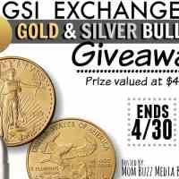 GSI Exchange Gold & Silver Bullet Giveaway $400 value Ends 4/30 US