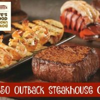 $50 Outback Steakhouse giveaway 6/17 US