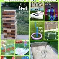 10 DIY Outdoor Games For Teens