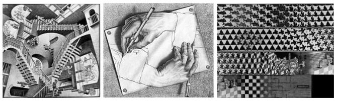 M.C Escher works