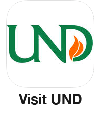 Visit UND Logo