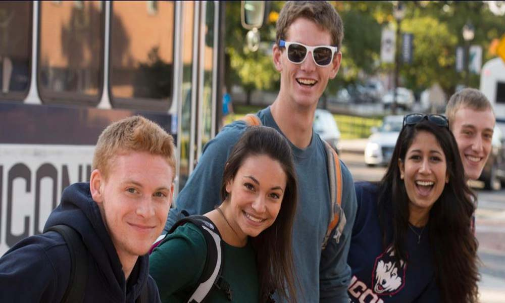 UCONN Students