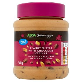 ASDA Chosen by You Peanut Butter with Chocolate Chunks