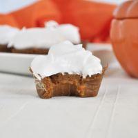Paleo Pumpkin Pie Cupcakes