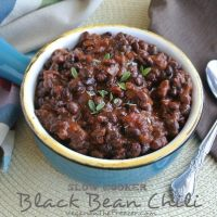 Guest Post:  Slow Cooker Black Bean Chili