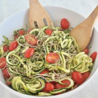 Soba and Zucchini Noodle Bowl