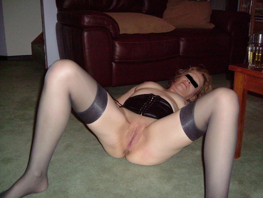 wife outside stripping for neighbor