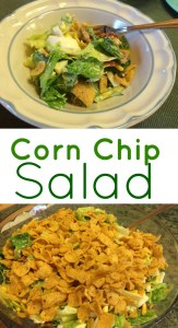 Corn Chip Salad - My Windowsill