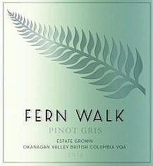 Fern Walk Pinot Gris label