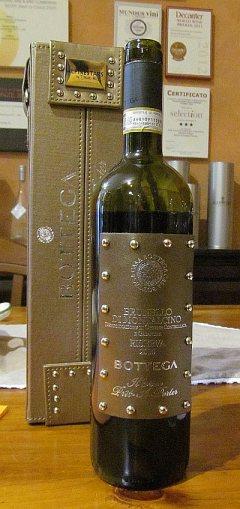 Bottega Brunello di Montalcino Riserva 2010