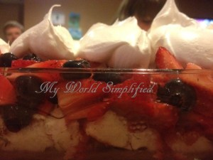Red, White, and Berry Trifle