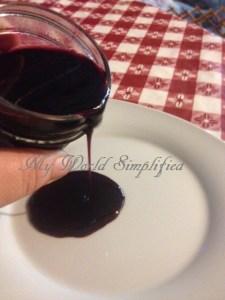 3 ingredient Blueberry Sauce