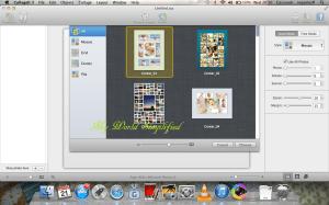 choosing a layout