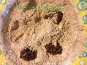 brownie crackles drop cookie
