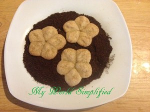 Day 7: Coffee Shortbread Cookies