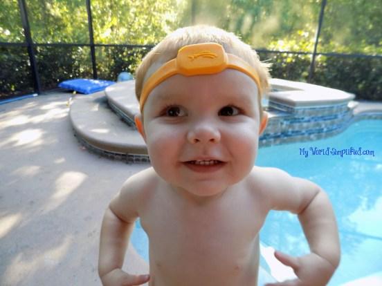 iSwimband head