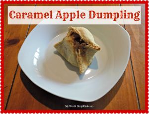 Caramel Apple Dumplings #Recipe