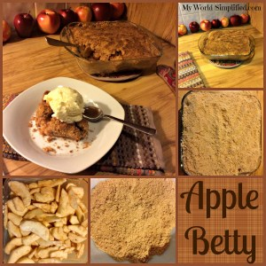 Apple Betty #Recipe