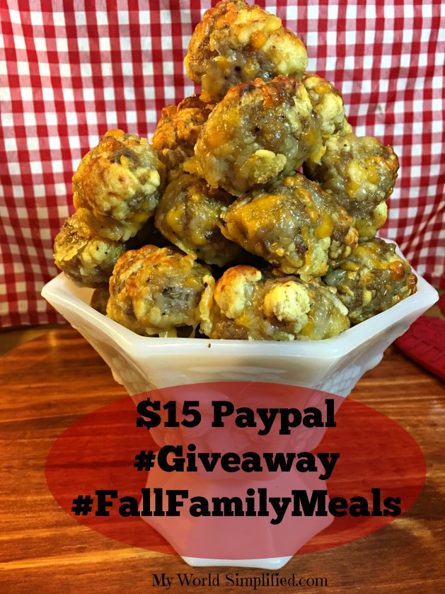 Fall Family Meals Giveaway