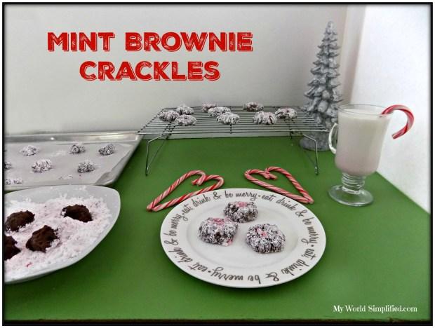 Mint brownie Crackles