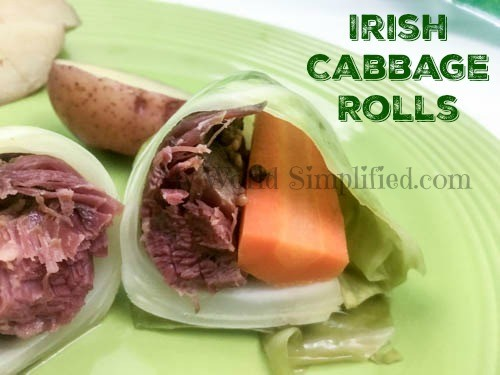 Irish Cabbage Rolls