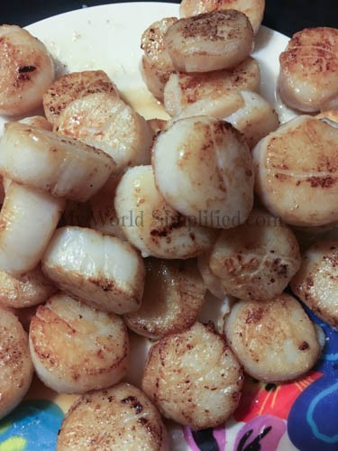 Spring Salad with Scallops-2