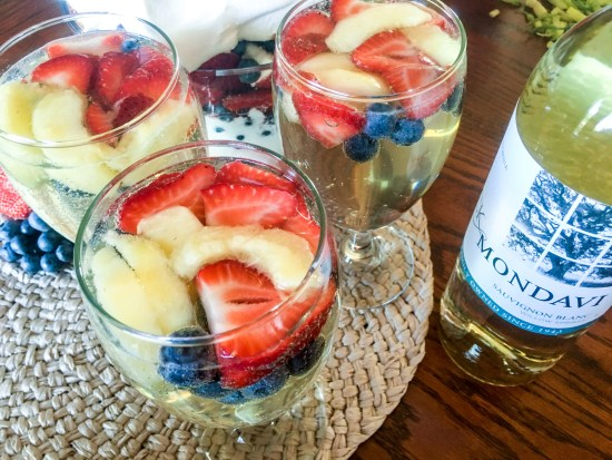 Red White and Berry Spritzer Recipe
